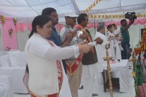bk vijaylaxhmi ,ADM bhadohi, ASP bhadohi, MLA Bhadohi ravindra tripathi ,